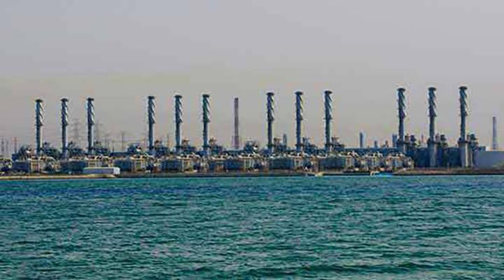 شرکت آب و برق جوبیل (JWAP) ، عربستان سعودی - 800،000 متر مکعب در روز