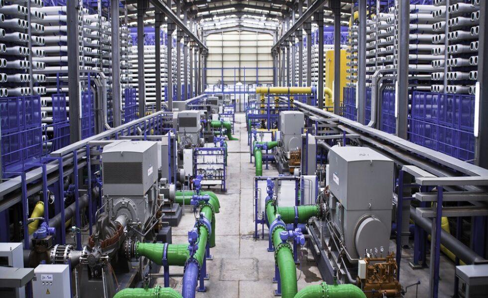 بهبود عملکرد غشای RO در آب شیرین کن صنعتی